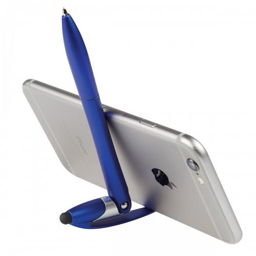 Bolígrafo Yoga con base para celular